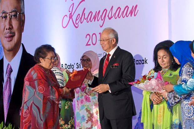 Tan Sri Datuk (Dr) Rafiah Salim as the new holder of the Women's Leadership Chair at Universiti Kebangsaan Malaya