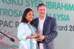 First Malaysian & First Woman receiving Aspac President's Award