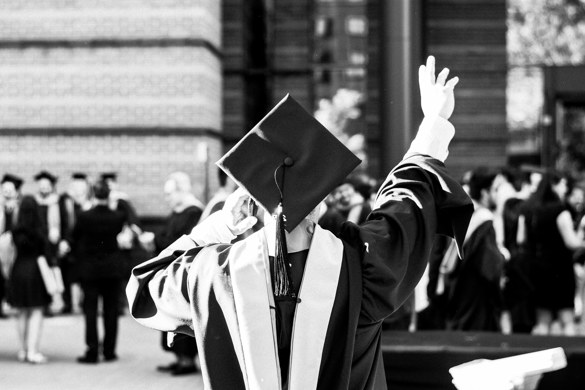 Form Downloads greyscale photography of person wearing academic dress 2365535 1