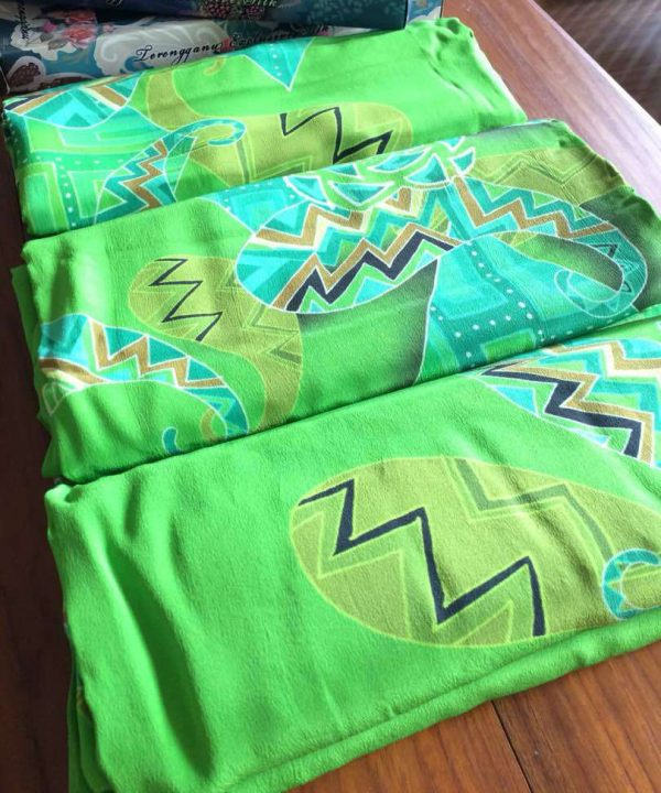Green Batik tkcoga merch 5m green batik